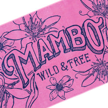 Load image into Gallery viewer, Mambo Wild and Free Beach Towel