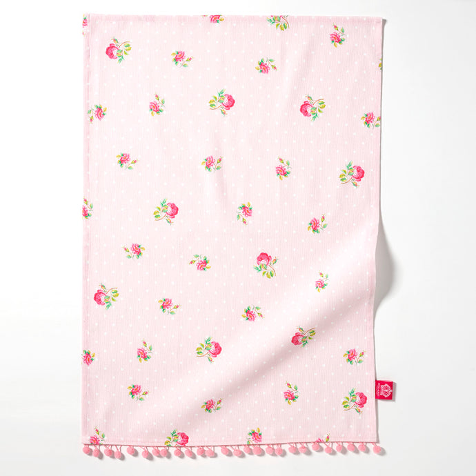 Royal Albert Cheeky Pink Mini Tea Towel