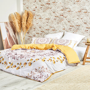 June & Jupiter Maple Duvet Cover Set