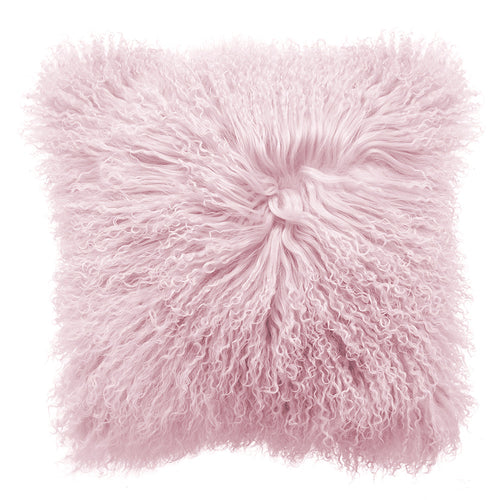 Royal Albert Mongolian Fur Cushion Peach Whip