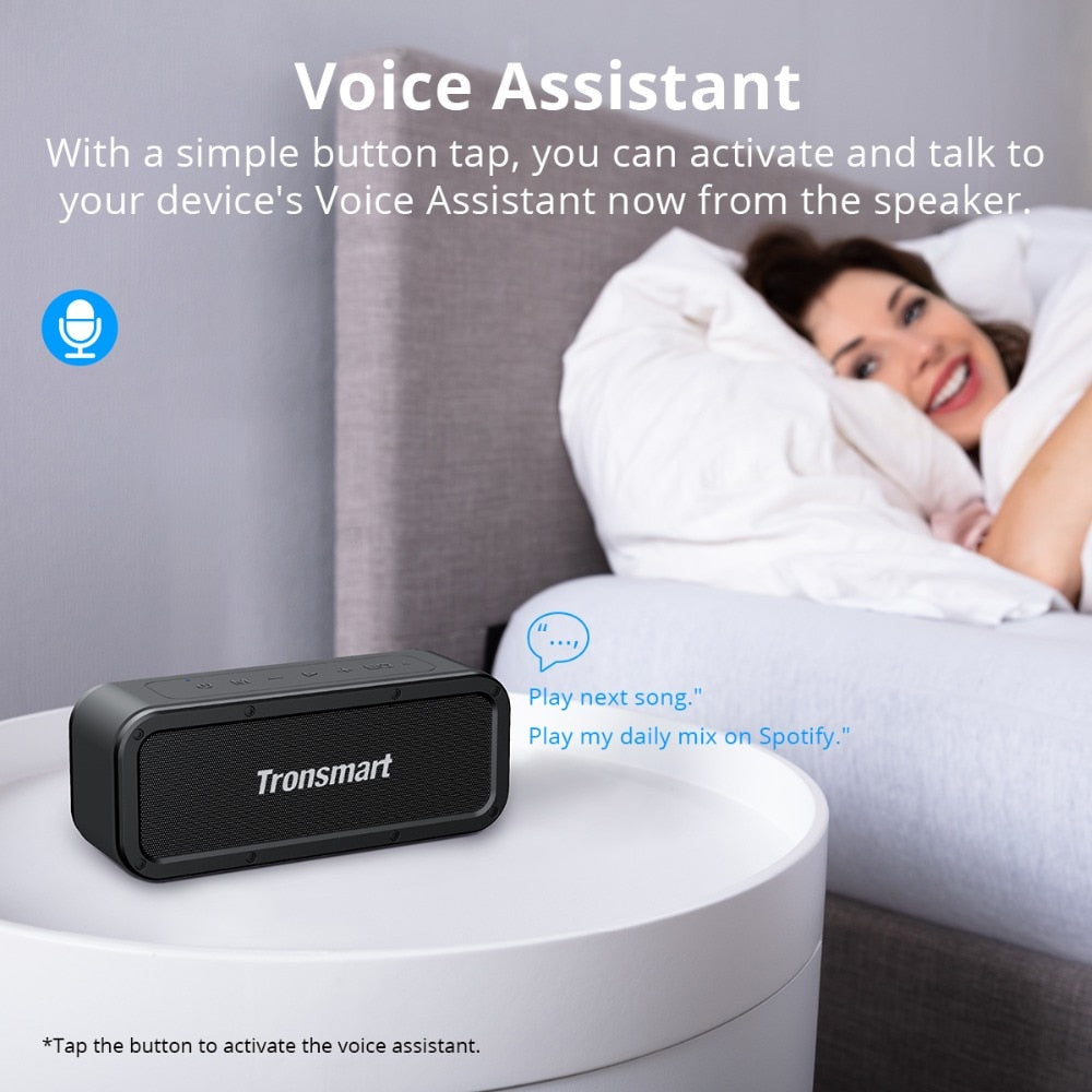 Force Bluetooth Speaker with Voice Assistant