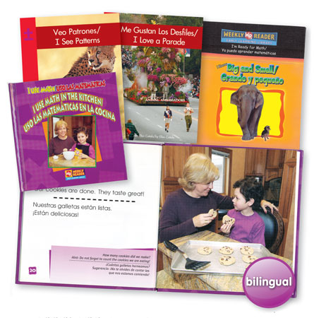 Bilingual Math Book Set  of 4