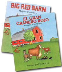 Big Red Barn English & Spanish 2-Hardcover Book