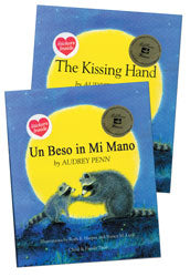 Kissing Hand English & Spanish 2-Hardcover Book