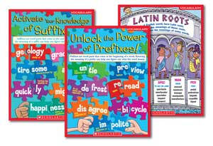 Word Study Charts Laminated Set