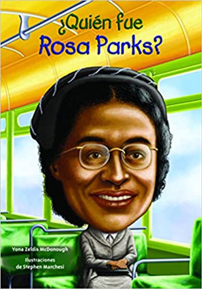 Who Was Rosa Parks? SPAN Paperback