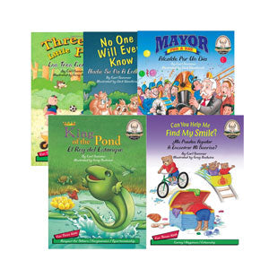 Kids Of Character Bilingual Library 1 Book Set of 6