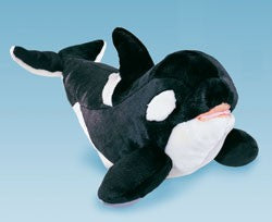 Plush Orca Whale, 15 in.