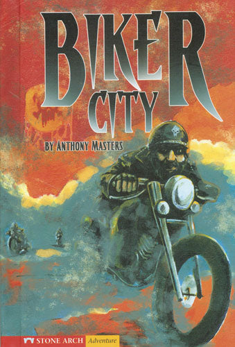 Biker City Library Bound Book