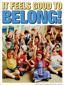 It Feels Good to Belong Bullying Preschool Series