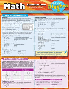Math Common Core State Standards Student Guide Algebra 2