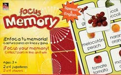 Food Memory Game (English/Spanish)