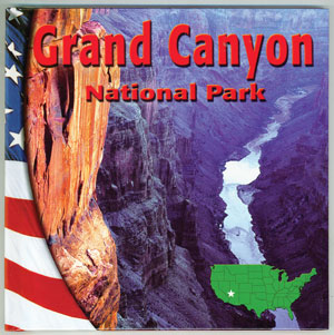 Grand Canyon National Park Library Bound Book