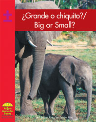 Big Or Small Bilingual Book Hardcover