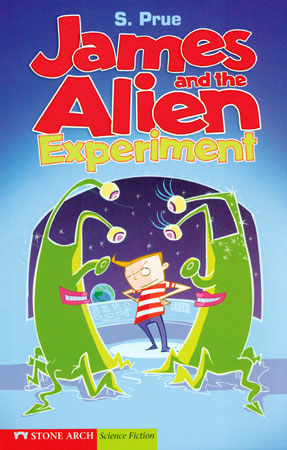James and the Alien Experiment English Paperback Book