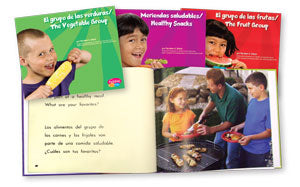 Healthy Eating Mypyramid Bilingual Book Set