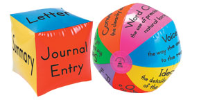 Writing Trait Ball & Format Cube