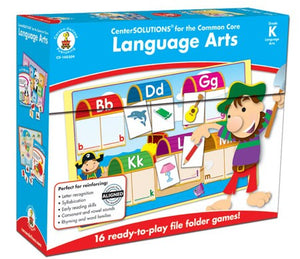 Center Solutions for the Common Core Language Arts Grade K