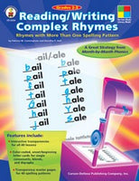 Reading/Writing Complex Rhymes (Four Blocks)