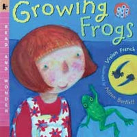 Growing Frogs Paperback Book