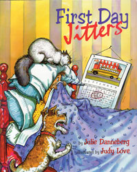 First Day Jitters Paperback Book