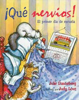 First Day Jitters Spanish Paperback Book