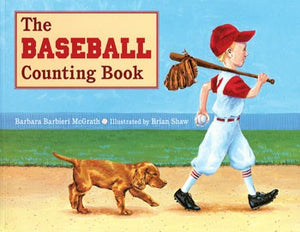 Baseball Counting Book Paperback Book