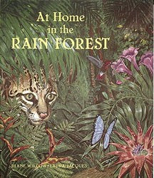 At Home in the Rainforest Paperback Book