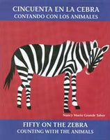 Fifty On the Zebra Bilingual (English/Spanish) Pap