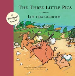Three Little Pigs Bilingual Paperback Book