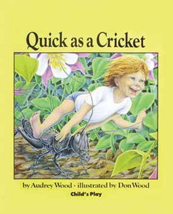 Quick As a Cricket Paperback Book