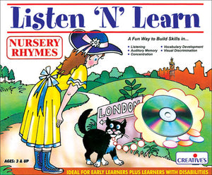 Listen N Learn Nursery Rhymes With Audio CD
