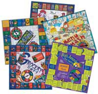 Consumer Math Games Set of 4