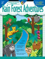 Rain Forest Adventures Reproducible Book