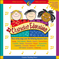 Character Education Readers Audio CD