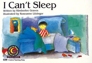 I Can't Sleep Level D Student Book Pk/6