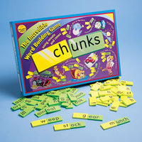Chunks Word Game
