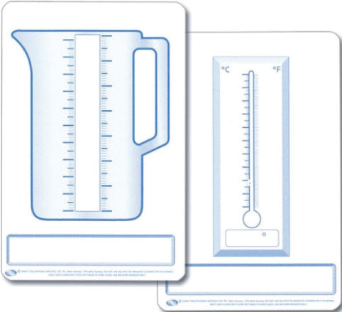Student Measurement Dry Erase Board