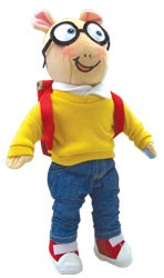 Arthur Plush Figure 12 In.