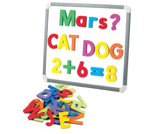 Foam Magnetic Letters Uppercase