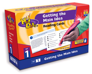 Getting the Main Idea Comprehension Hot Dots Kit