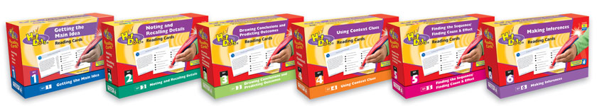 Hot Dots Comprehension Kits