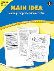 Main Idea  Blue Level Activity Book