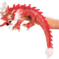 Red Dragon Puppet