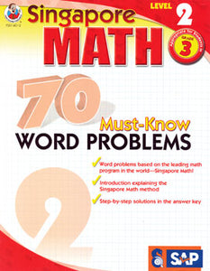 70 Must Know Word Problems Level 2