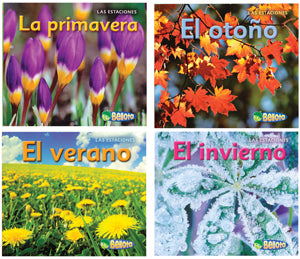 Four Super Seasons Bilingual Book Set