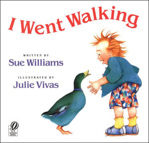 I Went Walking Paperback Book