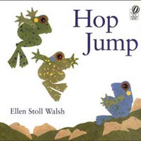 Hop Jump English Paperback Book