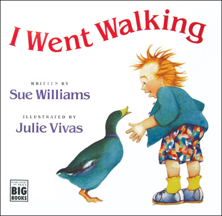 I Went Walking Big Book