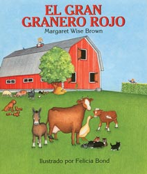 Big Red Barn Spanish Hardcover Book